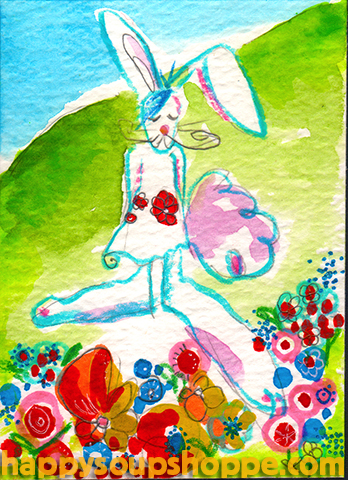 cathy pratt spring rabbit